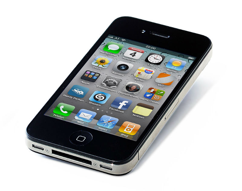 An iphone - mobiles should be banned in schools