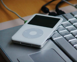 An iPod: Downloading an MP3 is nowhere near as satisfying as having a CD