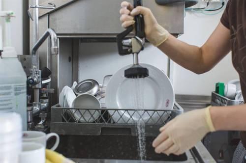 Job as a kitchen porter