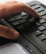 Hands on a keyboard, no broadband choice in Hull