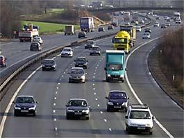 M25 traffic, motorway closed