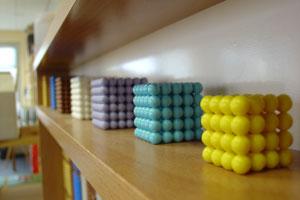 Pushy Parents? - Educational beads at a Montessori nursery