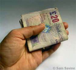 Fed up paying for dole scroungers