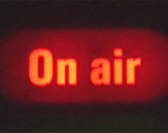 Television panel, on air