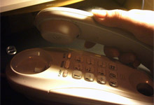 On the phone to BT
