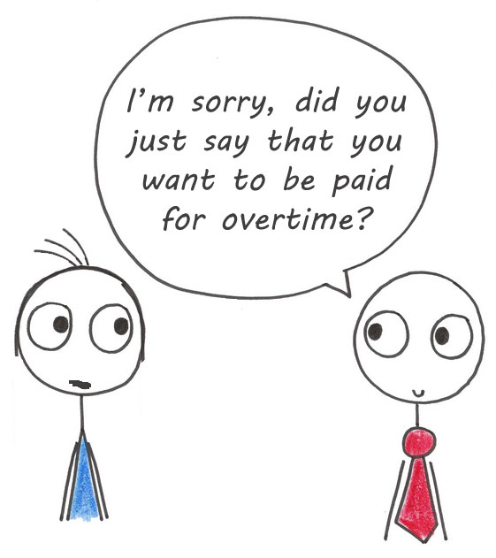 Paid for overtime?