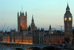 Parliament buildings, Westminster