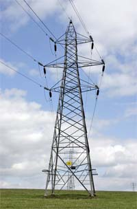 Electricity pylons - electricity prices in the UK are getting too high