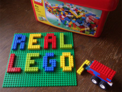 Real Lego - With all the kits, Lego is not what it used to be