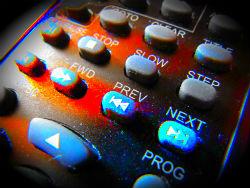 Remote control next button