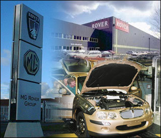 MG Rover Group, job losses, car manufacturing