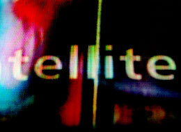 Close up of a TV screen