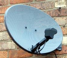 Sky TV satellite dish