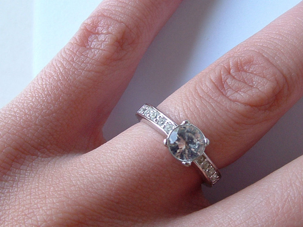A ring on a finger - stolen jewellery?