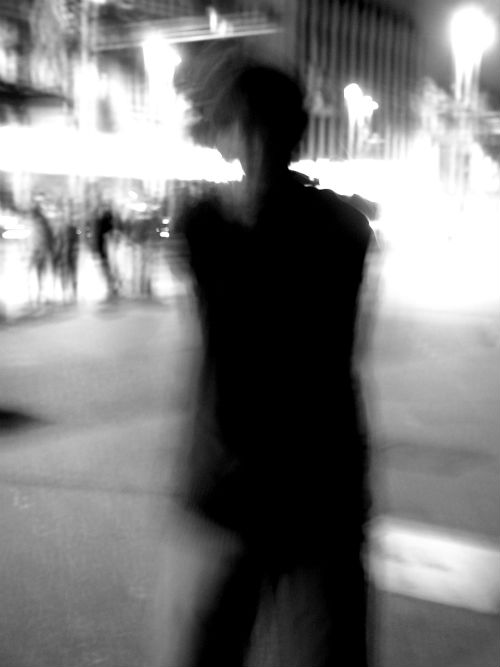 A stranger in the street