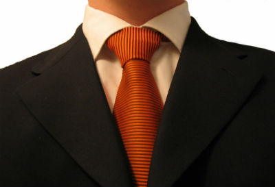 A suit, dress code at work