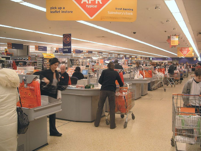 Shops and supermarkets, the national living wage comes down to profit
