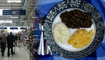 No Haggis at our Tesco any more