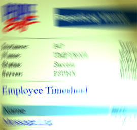 Timesheet software is a real pain - I hate it!