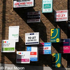To Let signs -  Paul Mison