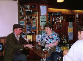 A traditional Irish pub