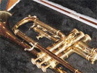 A Trumpet in it's case - Note, this one had nothing to do with eBay or KK Music