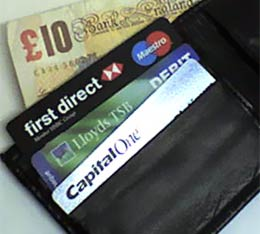 A wallet, first direct, lloyds tsb, capital one, free banking