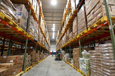 A large warehouse - guaranteed delivery order not arrived