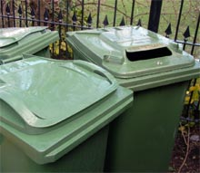 Waste removal and recycling policy - every two weeks, no plastic