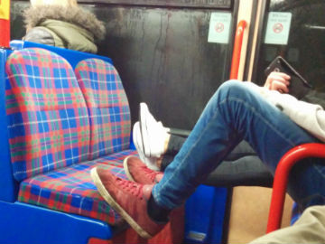 Anti-social behaviour from other passengers on our trains