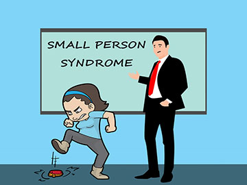 Bullying, controlling and domineering - Small Person Syndrome?