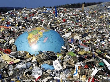 The world is rapidly turning into one big rubbish tip