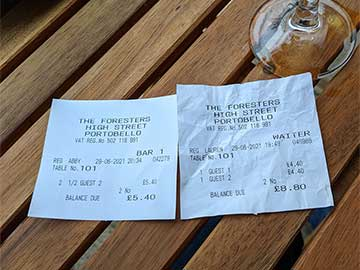 Pub charged an extra pound for 2 halves instead of a pint