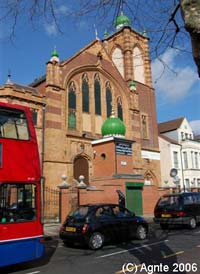 A bus at Willesden Green
