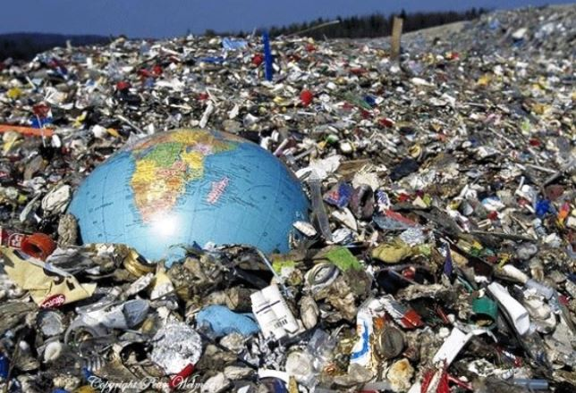 The world is a rubbish tip
