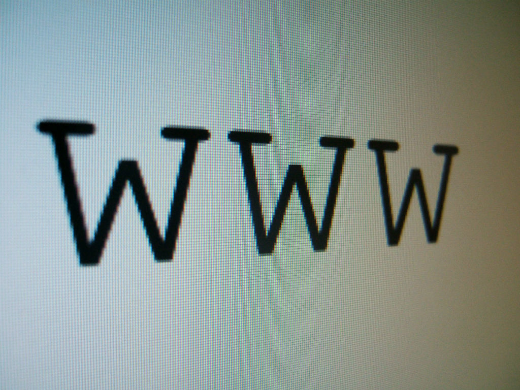 Do you start by typing in www?