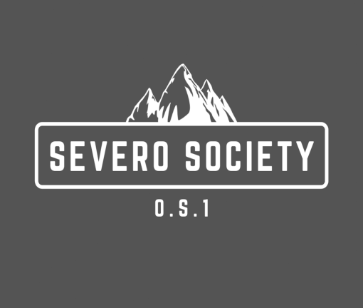 The design for the DIY 719 Severo Society t-shirt