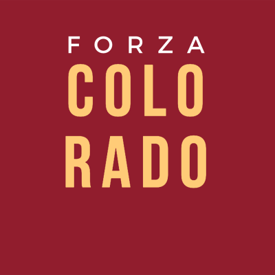 Forza Colorado t-shirt graphic