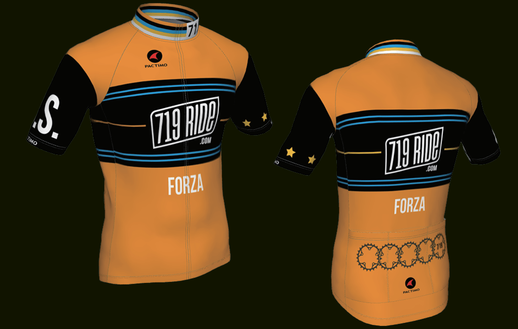 719 Ride jersey mockup graphic