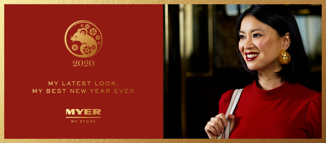 Myer Lunar New Year Website Tile