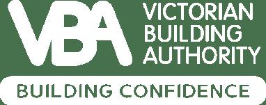 Victorian Building Authority (VBA) Logo on The Animals website