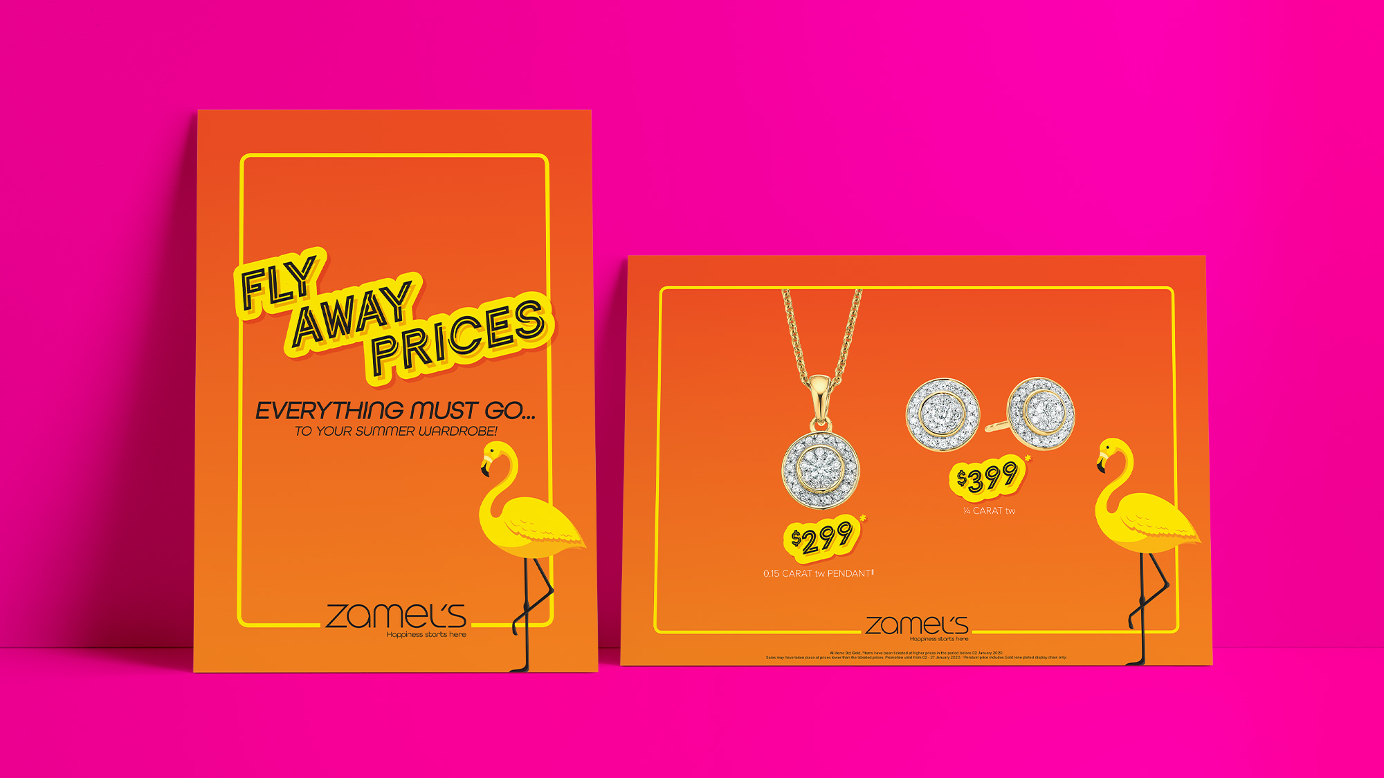 Zamel's Jewellers New Year Point Of Sale Campaign
