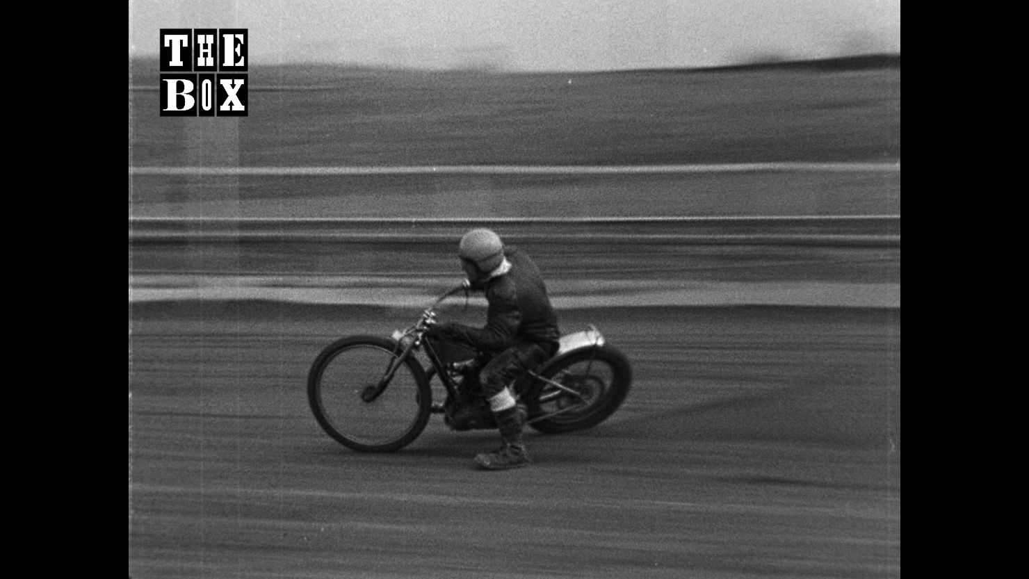 Archive image of a man on a motorbike