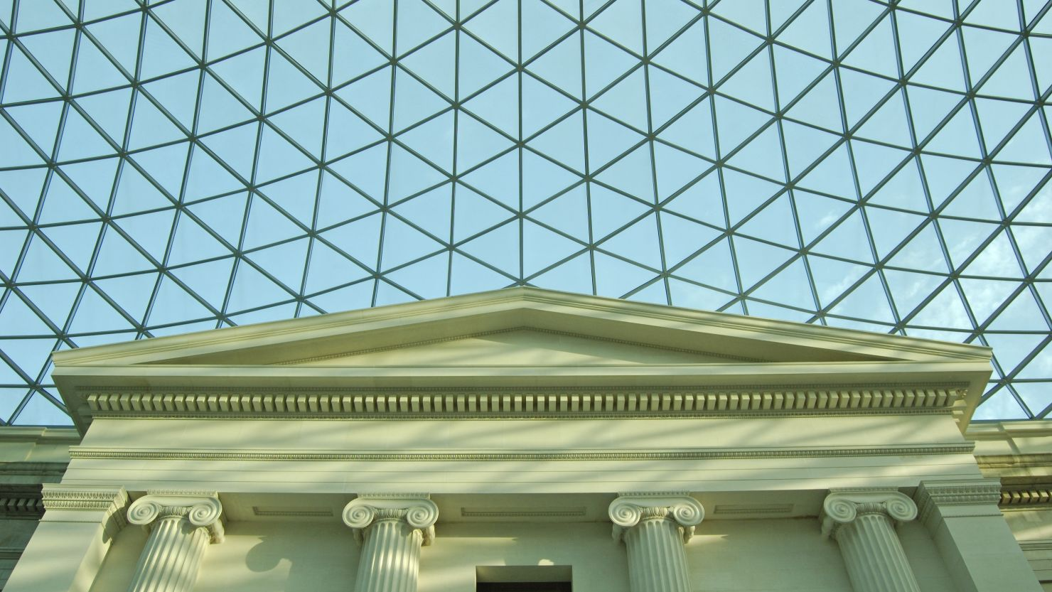The atrium of the British Museum in London