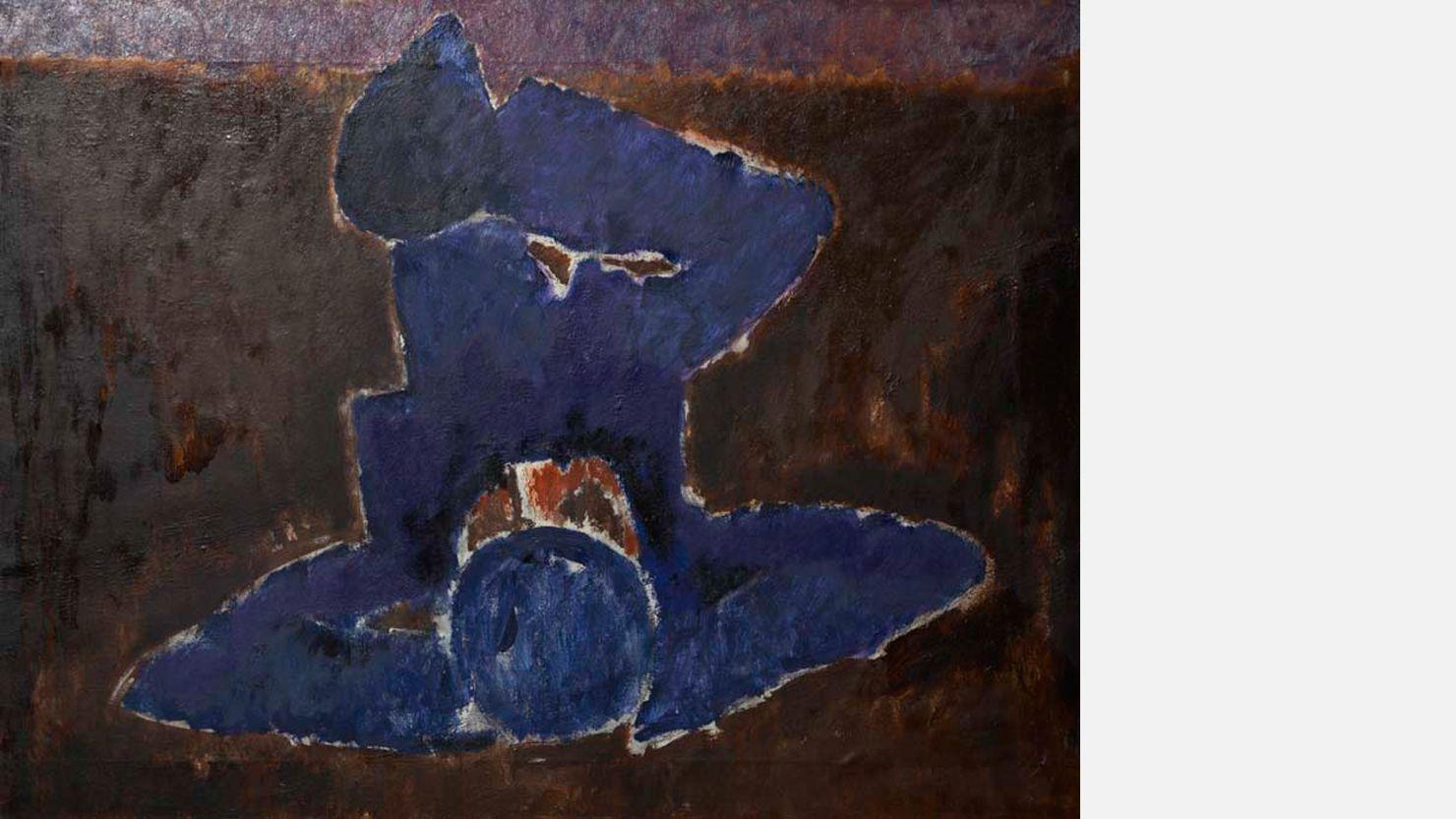 Reclining Figure by Josef Herman