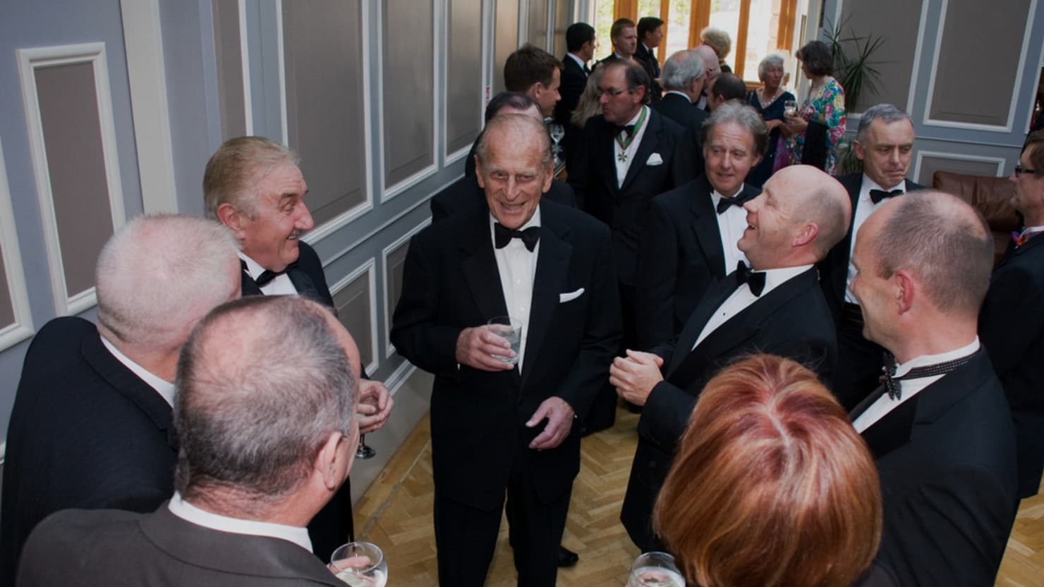 Prince Philip attends the 60th anniversary dinner for the Friends of Plymouth City Museum and Art Gallery in 2011