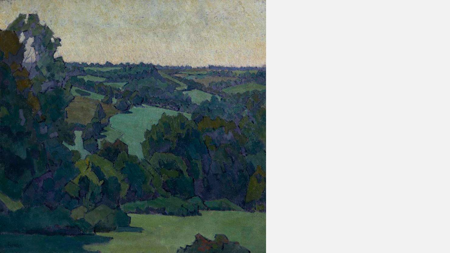 Green Devon, 1919 by Robert Pohill Bevan