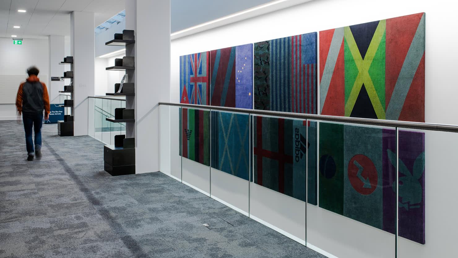 Affairs by Alexandre da Cunha on display at The Box, Plymouth