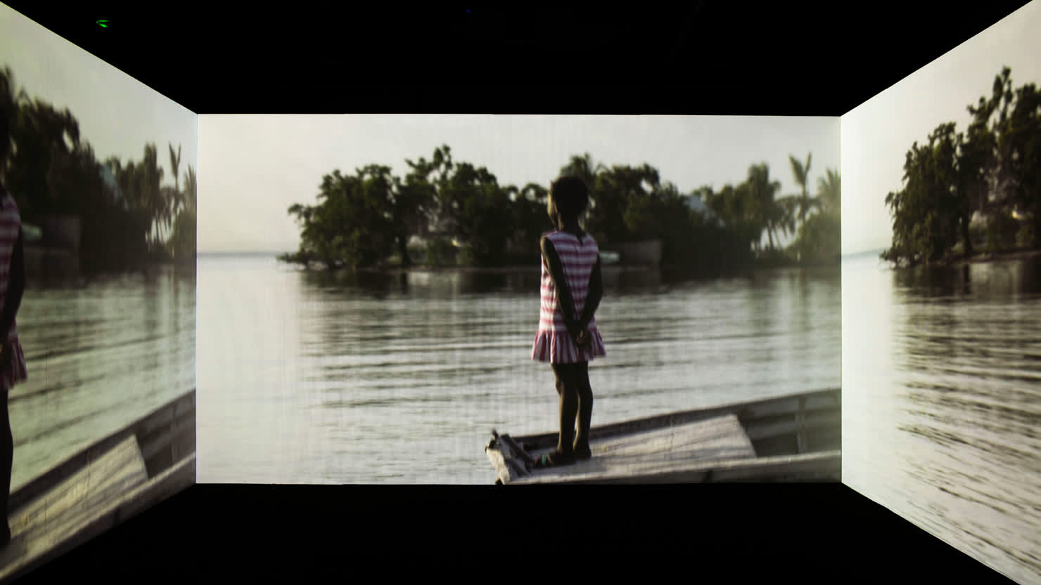 A still from 'Narrenschiff', 2017 by Kehinde Wiley