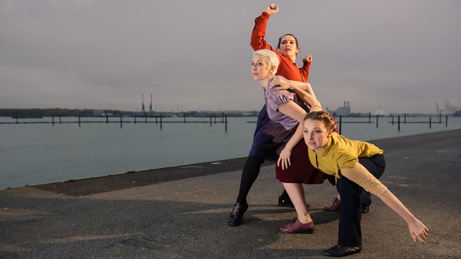 The Imagination Museum dancers. Image by Owen Benson.